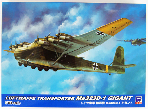 Pit-Road Skywave SN20 Luftwaffe German Air Force Transport Aircraft Me323 D-1 Gigant 1/144 scale kit