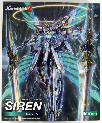 Kotobukiya KP349 Siren Plastic Model Kit (Xenoblade Chronicles 2)