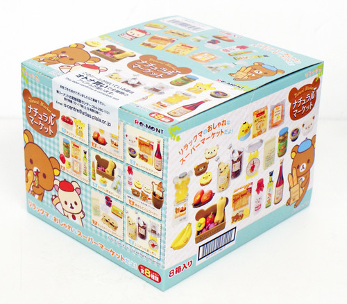 Re-ment 170626 Rilakkuma Natural Market 1 BOX 8 Figures Complete Set