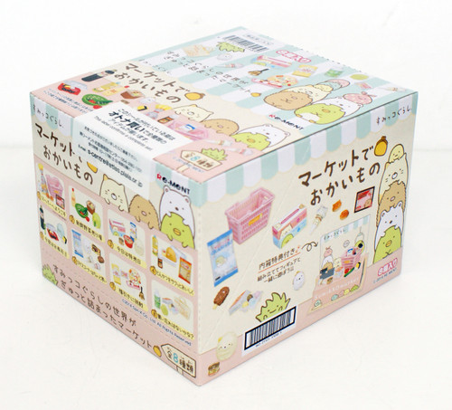 Re-ment 170589 Sumikko Gurashi Shopping at Supermarket 1 BOX 8 Figures Complete Set