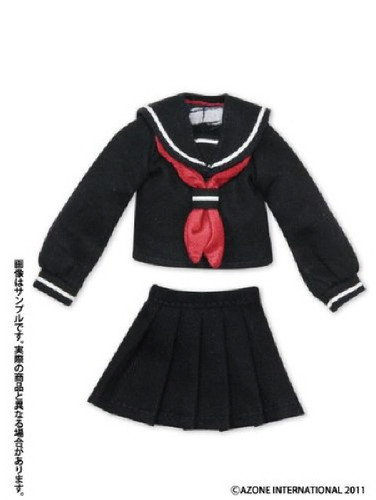 Azone ALB123-NNV PNXS Sailor Suit School Uniform Set Navy x Navy