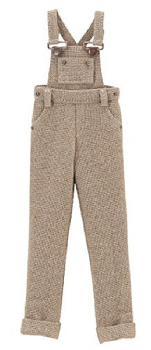 """Azone ALB164-LBR Clothes Shop In Forest """"PNXS Salopette Pants"""" Light Brown"""