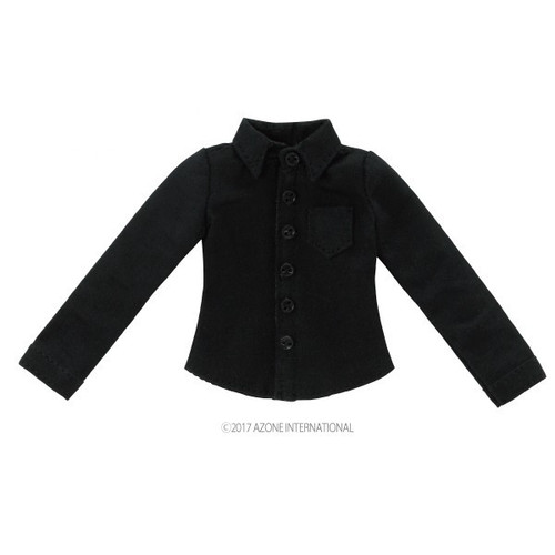 Azone ALB186-BLK PNXS Long Sleeve Y Shirt Black