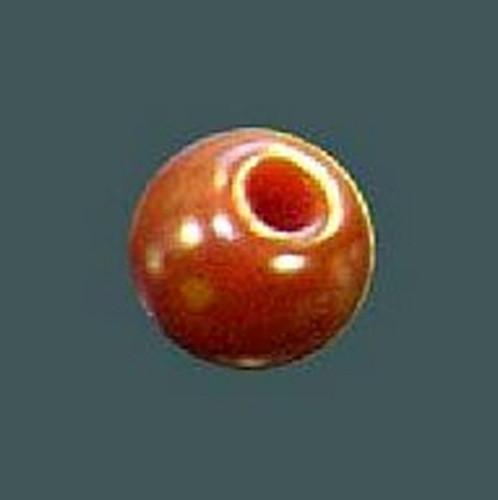 Azone AMP053-BRN Round Button Tea