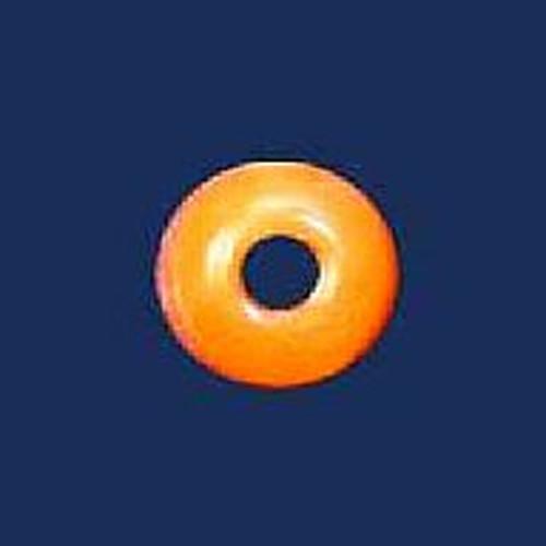 Azone AMP053-ORG Round Button Button Orange