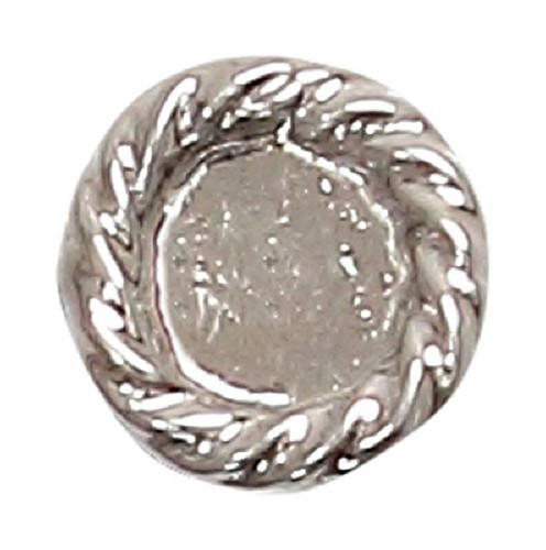 Azone AMP109-SLV Azone Original 5mm Bandeye Button Silver