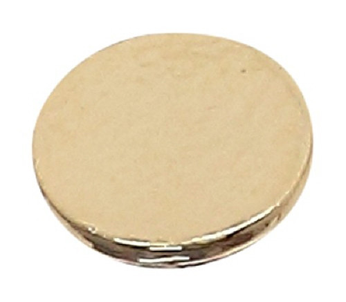 Azone AMP112-GLD Azone Original 6mm Flat Button Gold