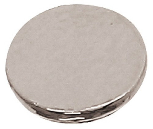 Azone AMP112-SLV Azone Original 6mm Flat Button Silver