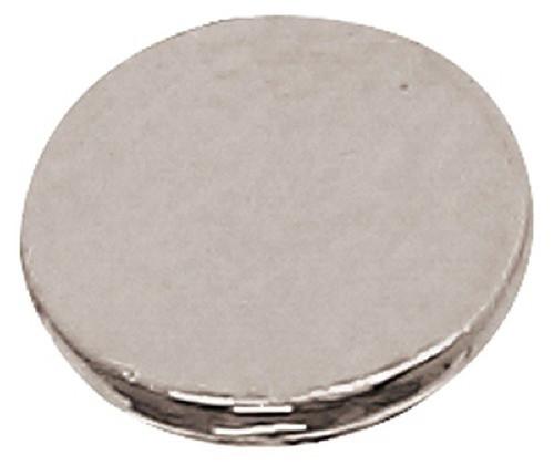 Azone AMP112-SLV Azone Original 6mm Flat Button Silver