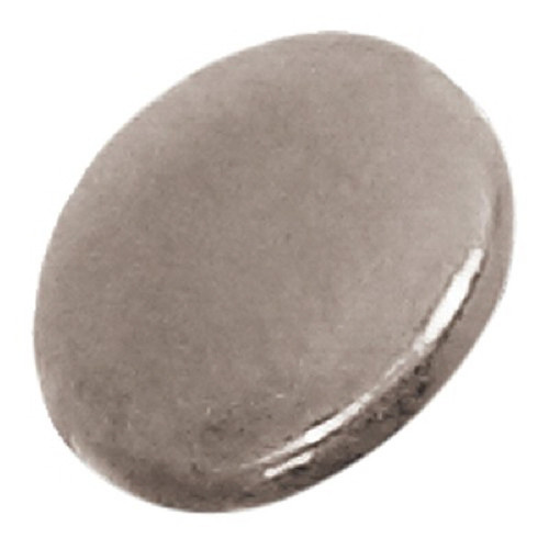 Azone AMP114-SLV Azone Original 5mm Big Round Button Silver