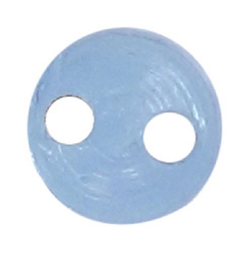 Azone AMP117-CBL Azone Original 4mm Rin Cup Button Clear Blue