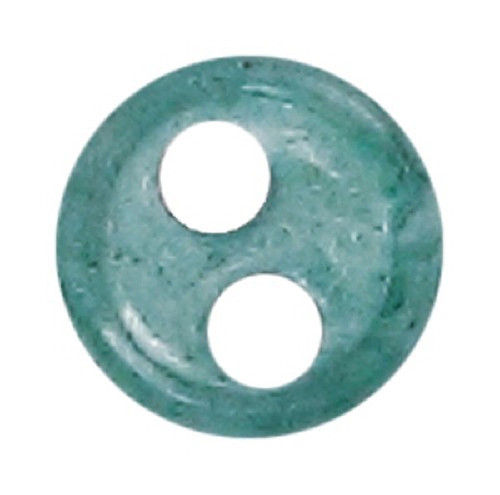 Azone AMP117-DGR Azone Original 4mm Phosphor Cup Button Dark Green