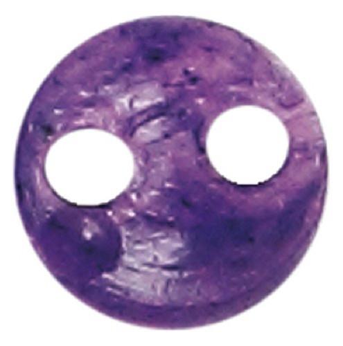 Azone AMP117-PPL Azone Original 4mm Phosphor Cup Button Purple