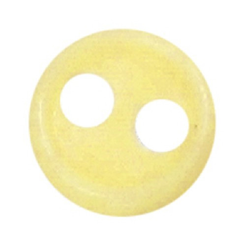 Azone AMP117-YLW Azone Original 4mm Rin Cup Button Yellow