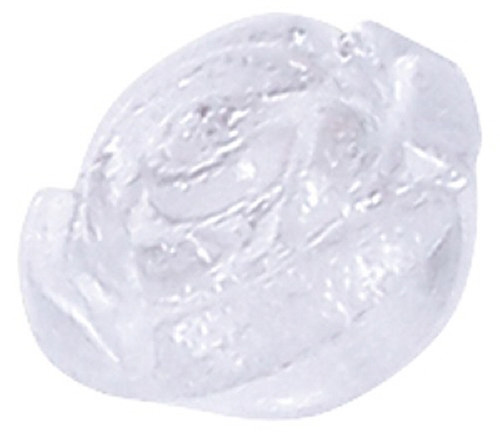 Azone AMP118-CLR Azone Original 6mm Rose Motif Button Clear