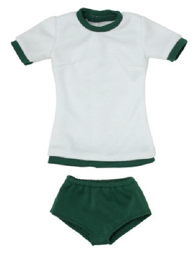 Azone FAO053-GRN Azo 2 Gym Clothes Set Dark Green