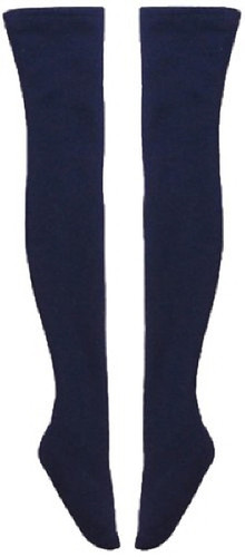 Azone FAR128-NVY for 50cm doll Over Knee Socks II Navy