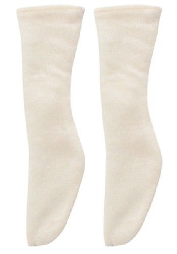 Azone FAR197-CRM for 50cm doll Soft See-Through Sock Cream