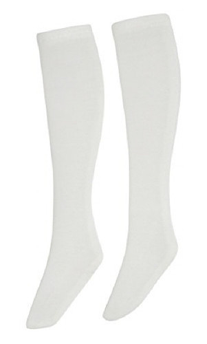Azone FAR221-WHT for 50cm doll See-Through High Socks White
