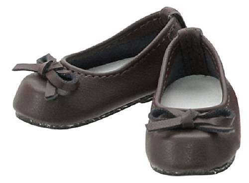 "Azone KPT004-BRN Mushroom Planet ""Ballet Shoes"" Brown"