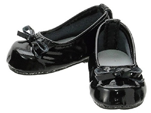 "Azone KPT004-EBK Mushroom Planet ""Ballet Shoes"" Enamel Black"