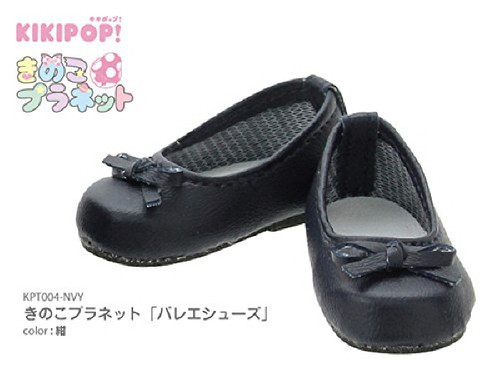 "Azone KPT004-NVY Mushroom Planet ""Ballet Shoes"" Navy"
