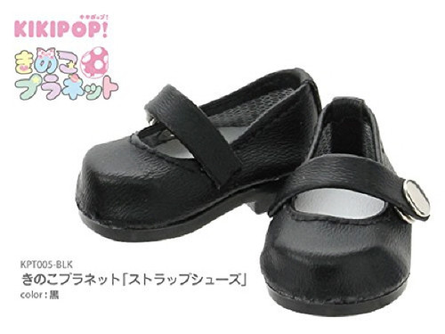 Azone KPT005-BLK Mushroom Planet 'Strap Shoes' Black