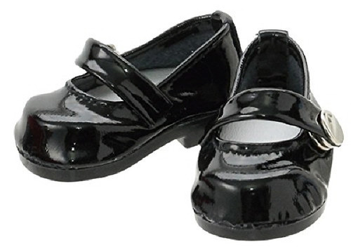 Azone KPT005-EBK Mushroom Planet 'Strap Shoes' Enamel Black