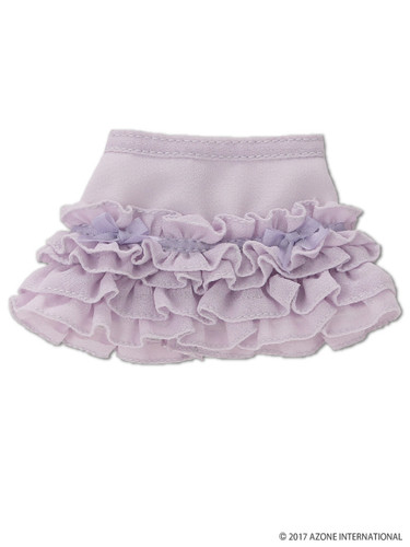 Azone KPT020-PPL Mushroom Planet 'sugar Frill Skirt' Purple