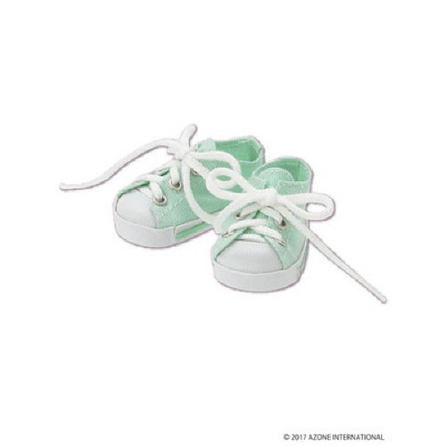 Azone KPT023-MGR Mushroom Planet 'Low Cut Sneaker' Mint Green
