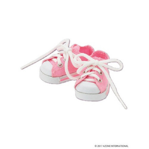 Azone KPT023-PNK Mushroom Planet 'Low Cut Sneaker' Pink