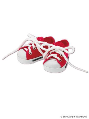 Azone KPT023-RED Mushroom Planet 'Low Cut Sneaker' Red