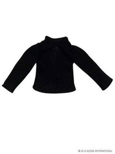 Azone PIC115-BLK 1/12 Long Sleeve T Shirt Black