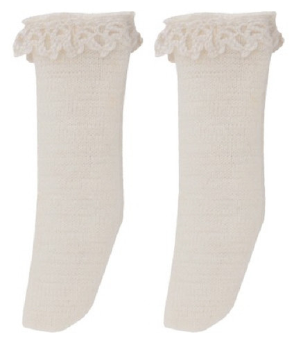 Azone PIC141-CRM 1/12 Pico D Cotton Lace Socks Cream