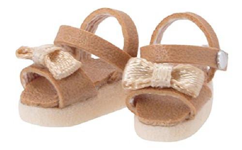 Azone PIC146-CML 1/12 Ribbon Strap Sandal Camel