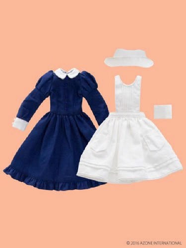 Azone PNM141-NVY PNM Classical Nurse Set White x Navy