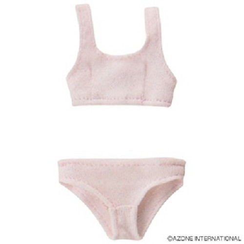 Azone POC242-PNK PNS Sports Bra & Shorts Set Pink