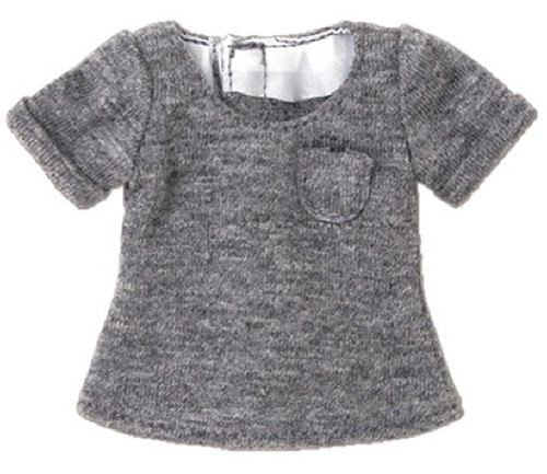 Azone POC434-GRY PNS Boys Low-Edge T-Shirt Gray
