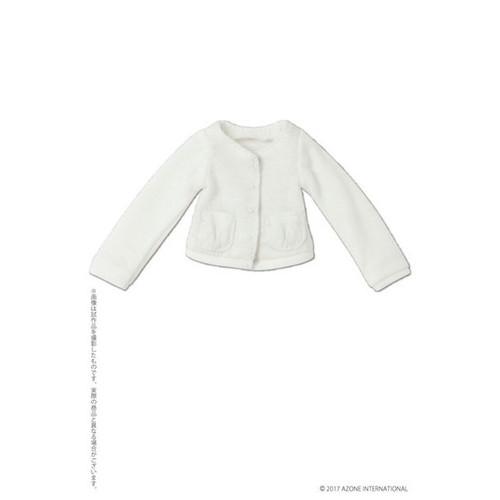 Azone POC439-WHT PNS Marshmallow Cardigan White