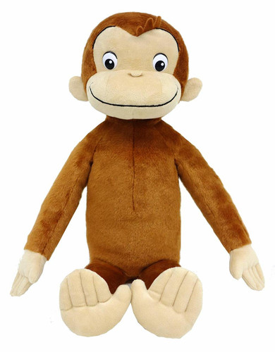 Sun Arrow Plush Doll Curious George TV L Size