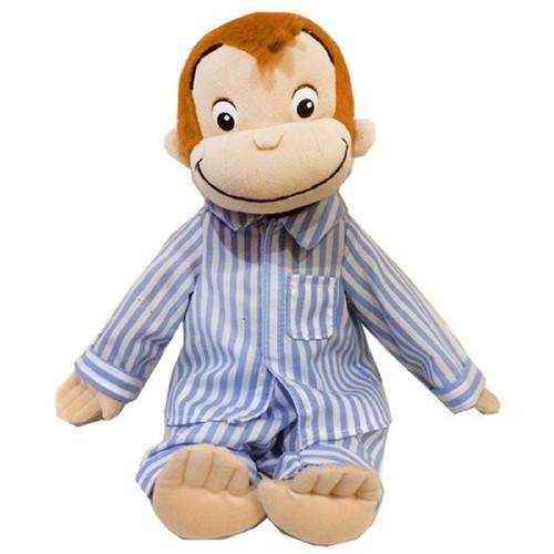 Sun Arrow Plush Doll Curious George Pajamas