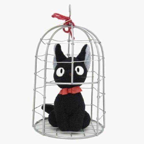Sun Arrow Plush Doll Kikifs Delivery Service Jiji in Cage