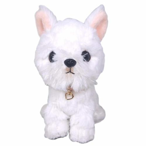 Sunlemon Plush Doll Pups! White Terrier Size S