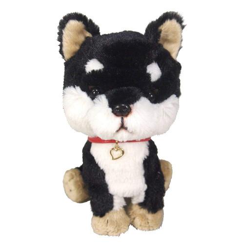 Sunlemon Plush Doll Pups! Mame Shiba Black Size S