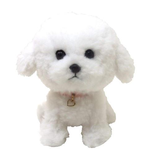 Sunlemon Plush Doll Pups! Bichon Frise Size S