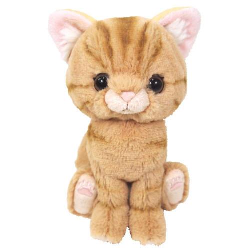Sunlemon Plush Doll Kitten American Shorthair Brown Size S