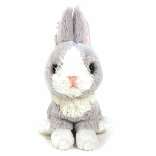 Sunlemon Plush Doll Fluffies Rabbit Gray Size S