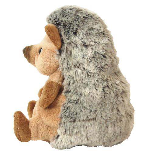 Sunlemon Plush Doll Fluffies Hedgehog Brown Size M