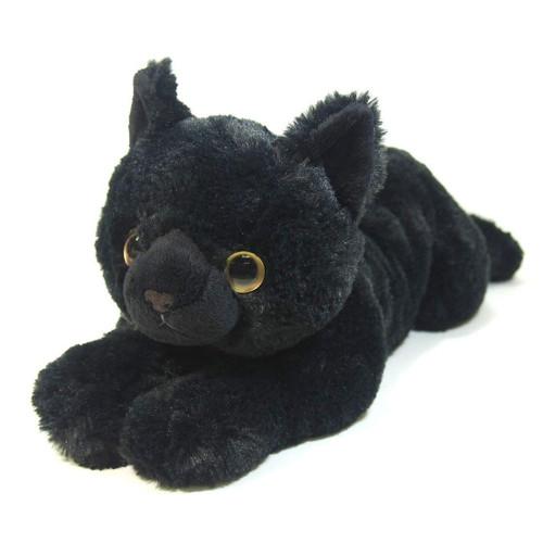 Sunlemon Plush Doll Hiza Neko Black Size M