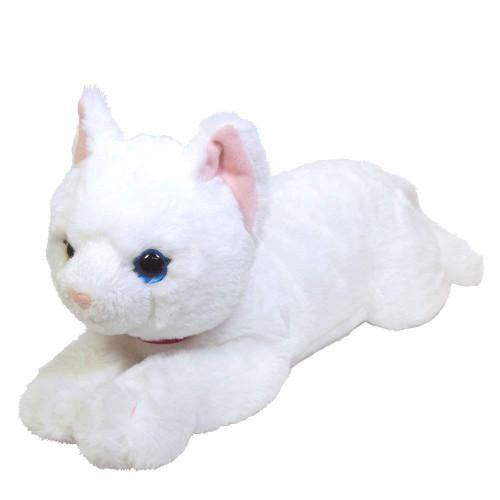 Sunlemon Plush Doll Hiza Neko White Size M